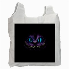 Cheshire Cat Animation Recycle Bag (two Side)