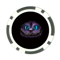 Cheshire Cat Animation Poker Chip Card Guard (10 Pack)