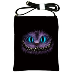 Cheshire Cat Animation Shoulder Sling Bags