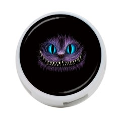 Cheshire Cat Animation 4 Port Usb Hub (one Side)
