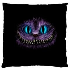 Cheshire Cat Animation Large Cushion Case (one Side)