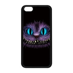 Cheshire Cat Animation Apple Iphone 5c Seamless Case (black)