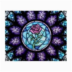 Cathedral Rosette Stained Glass Small Glasses Cloth