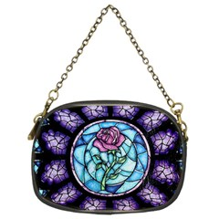 Cathedral Rosette Stained Glass Chain Purses (two Sides)
