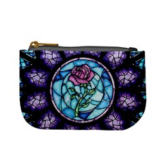 Cathedral Rosette Stained Glass Mini Coin Purses