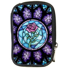 Cathedral Rosette Stained Glass Compact Camera Cases