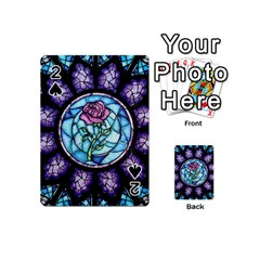Cathedral Rosette Stained Glass Playing Cards 54 (mini)