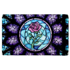 Cathedral Rosette Stained Glass Apple Ipad 3/4 Flip Case