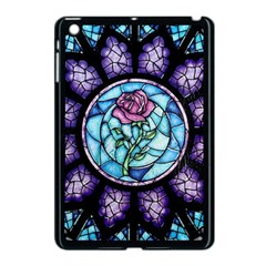 Cathedral Rosette Stained Glass Apple Ipad Mini Case (black)