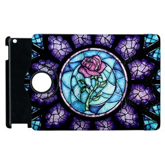 Cathedral Rosette Stained Glass Apple Ipad 3/4 Flip 360 Case