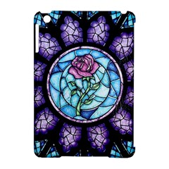 Cathedral Rosette Stained Glass Apple Ipad Mini Hardshell Case (compatible With Smart Cover)