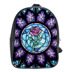 Cathedral Rosette Stained Glass School Bag (xl)