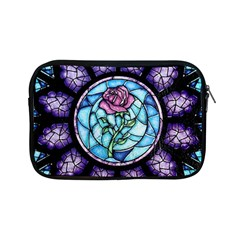 Cathedral Rosette Stained Glass Apple Ipad Mini Zipper Cases by Samandel
