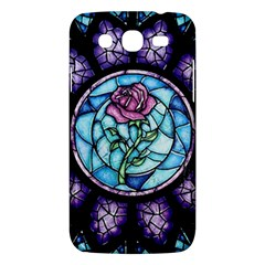 Cathedral Rosette Stained Glass Samsung Galaxy Mega 5 8 I9152 Hardshell Case