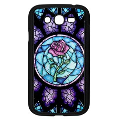 Cathedral Rosette Stained Glass Samsung Galaxy Grand Duos I9082 Case (black)