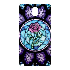 Cathedral Rosette Stained Glass Samsung Galaxy Note 3 N9005 Hardshell Back Case