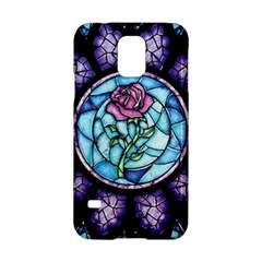 Cathedral Rosette Stained Glass Samsung Galaxy S5 Hardshell Case