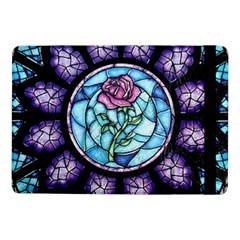 Cathedral Rosette Stained Glass Samsung Galaxy Tab Pro 10 1  Flip Case