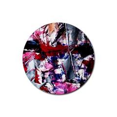 Combat Trans 3 Rubber Coaster (round)  by bestdesignintheworld