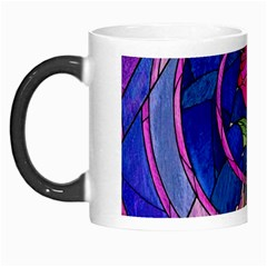 Enchanted Rose Stained Glass Morph Mugs by Samandel