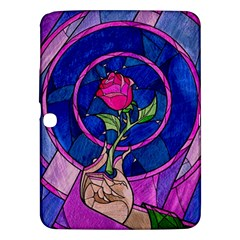 Enchanted Rose Stained Glass Samsung Galaxy Tab 3 (10 1 ) P5200 Hardshell Case