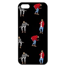 Drake Ugly Holiday Christmas Apple Iphone 5 Seamless Case (black)