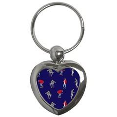 Drake Ugly Holiday Christmas Key Chains (heart)