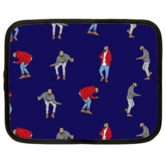 Drake Ugly Holiday Christmas Netbook Case (large)