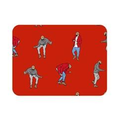 Drake Ugly Holiday Christmas Double Sided Flano Blanket (mini)  by Samandel