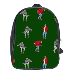 Drake Ugly Holiday Christmas School Bag (large)