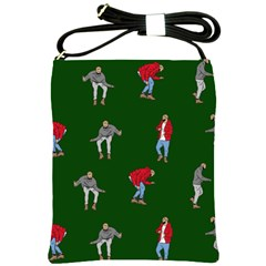 Drake Ugly Holiday Christmas Shoulder Sling Bags
