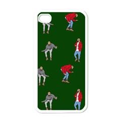 Drake Ugly Holiday Christmas Apple Iphone 4 Case (white)