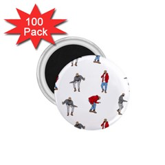 Drake Ugly Holiday Christmas 1 75  Magnets (100 Pack)