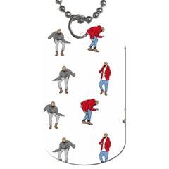 Drake Ugly Holiday Christmas Dog Tag (one Side)