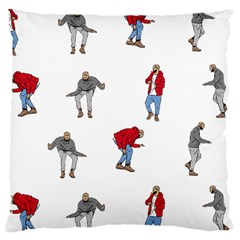 Drake Ugly Holiday Christmas Large Cushion Case (one Side) by Samandel