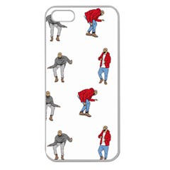 Drake Ugly Holiday Christmas Apple Seamless Iphone 5 Case (clear)
