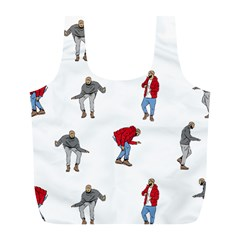 Drake Ugly Holiday Christmas Full Print Recycle Bags (l)