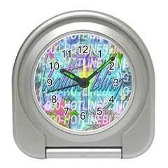 Drake 1 800 Hotline Bling Travel Alarm Clocks by Samandel