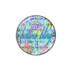 Drake 1 800 Hotline Bling Hat Clip Ball Marker by Samandel