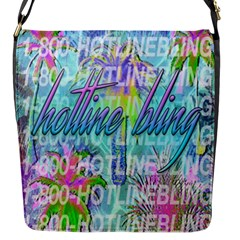 Drake 1 800 Hotline Bling Flap Messenger Bag (s) by Samandel