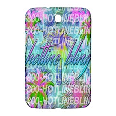 Drake 1 800 Hotline Bling Samsung Galaxy Note 8 0 N5100 Hardshell Case  by Samandel