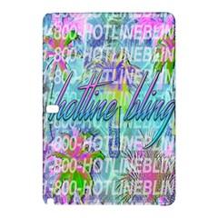 Drake 1 800 Hotline Bling Samsung Galaxy Tab Pro 10 1 Hardshell Case by Samandel