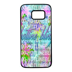 Drake 1 800 Hotline Bling Samsung Galaxy S7 Black Seamless Case by Samandel