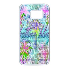 Drake 1 800 Hotline Bling Samsung Galaxy S7 White Seamless Case by Samandel