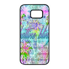 Drake 1 800 Hotline Bling Samsung Galaxy S7 Edge Black Seamless Case by Samandel