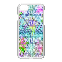Drake 1 800 Hotline Bling Apple Iphone 7 Seamless Case (white) by Samandel