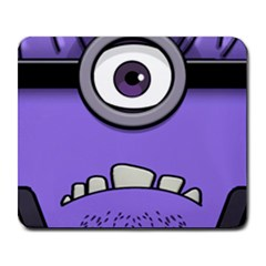 Evil Purple Large Mousepads