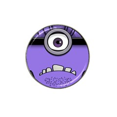 Evil Purple Hat Clip Ball Marker (10 Pack)