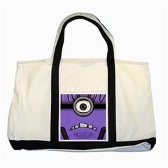 Evil Purple Two Tone Tote Bag