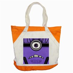 Evil Purple Accent Tote Bag